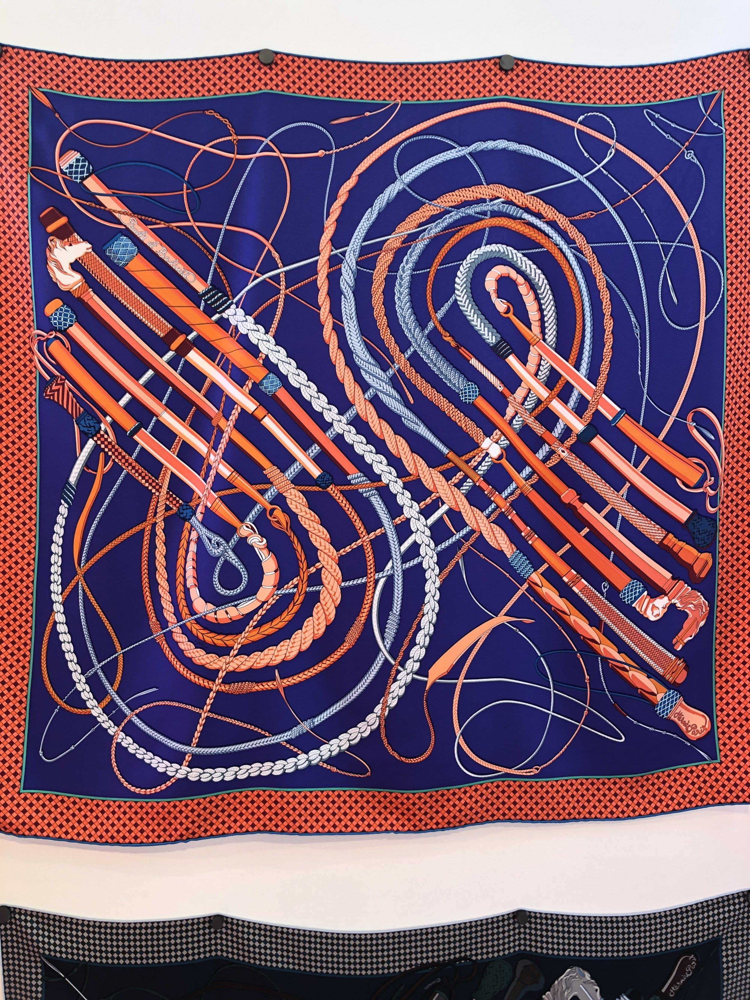 Virginie Jamin scarf.