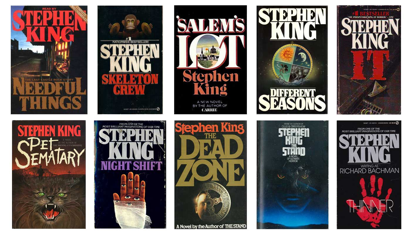 Stephen King book covers were a major inspiration for creating the  Stranger Things  title