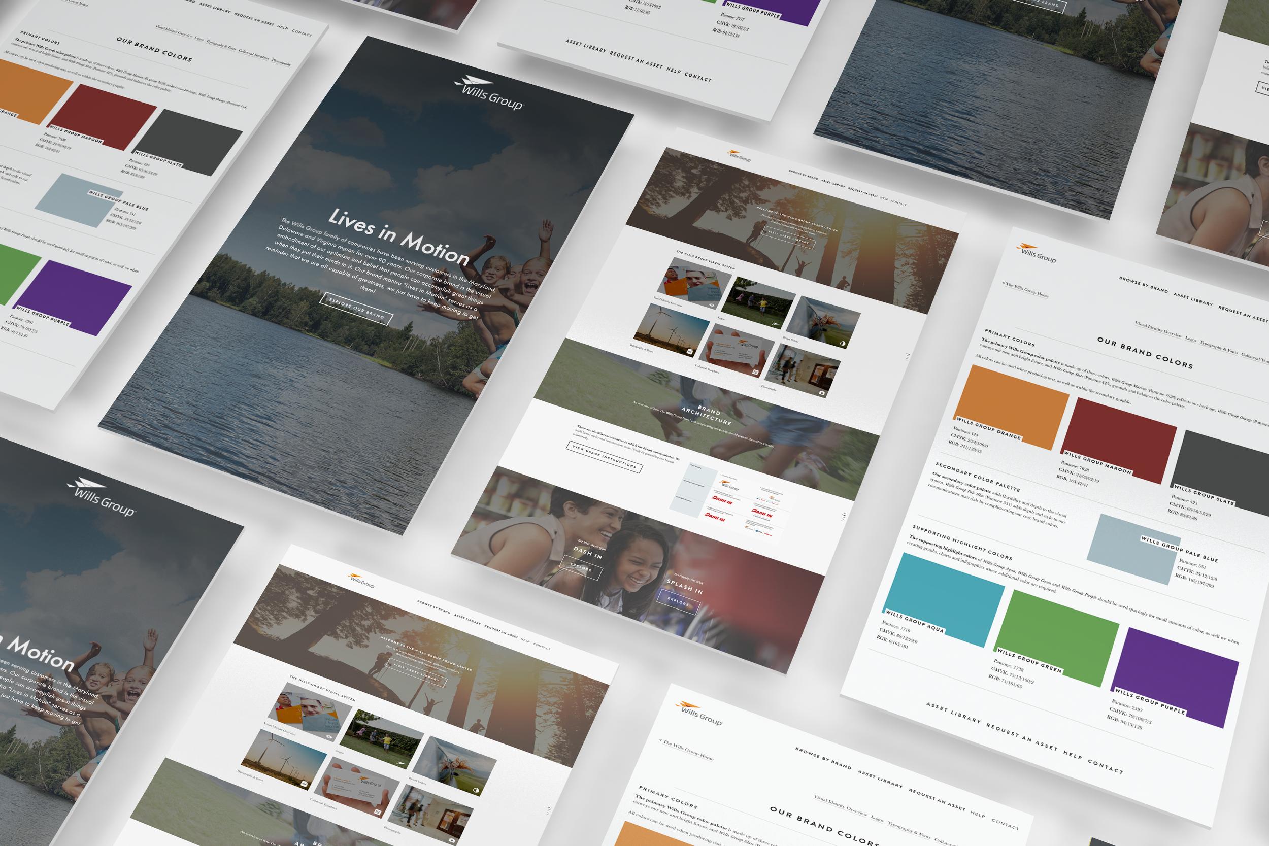 Emotif - brand management web design
