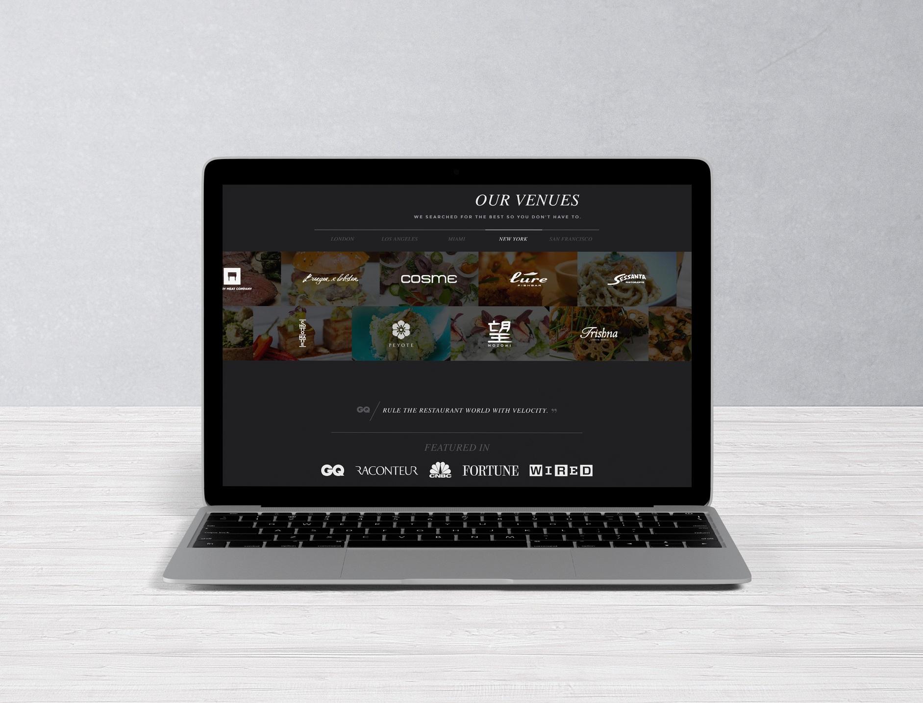Emotif - Brand Consultants - website design