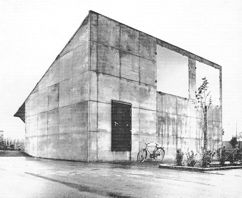 Sigurd Lewerentz  Flower Shop, Malmo