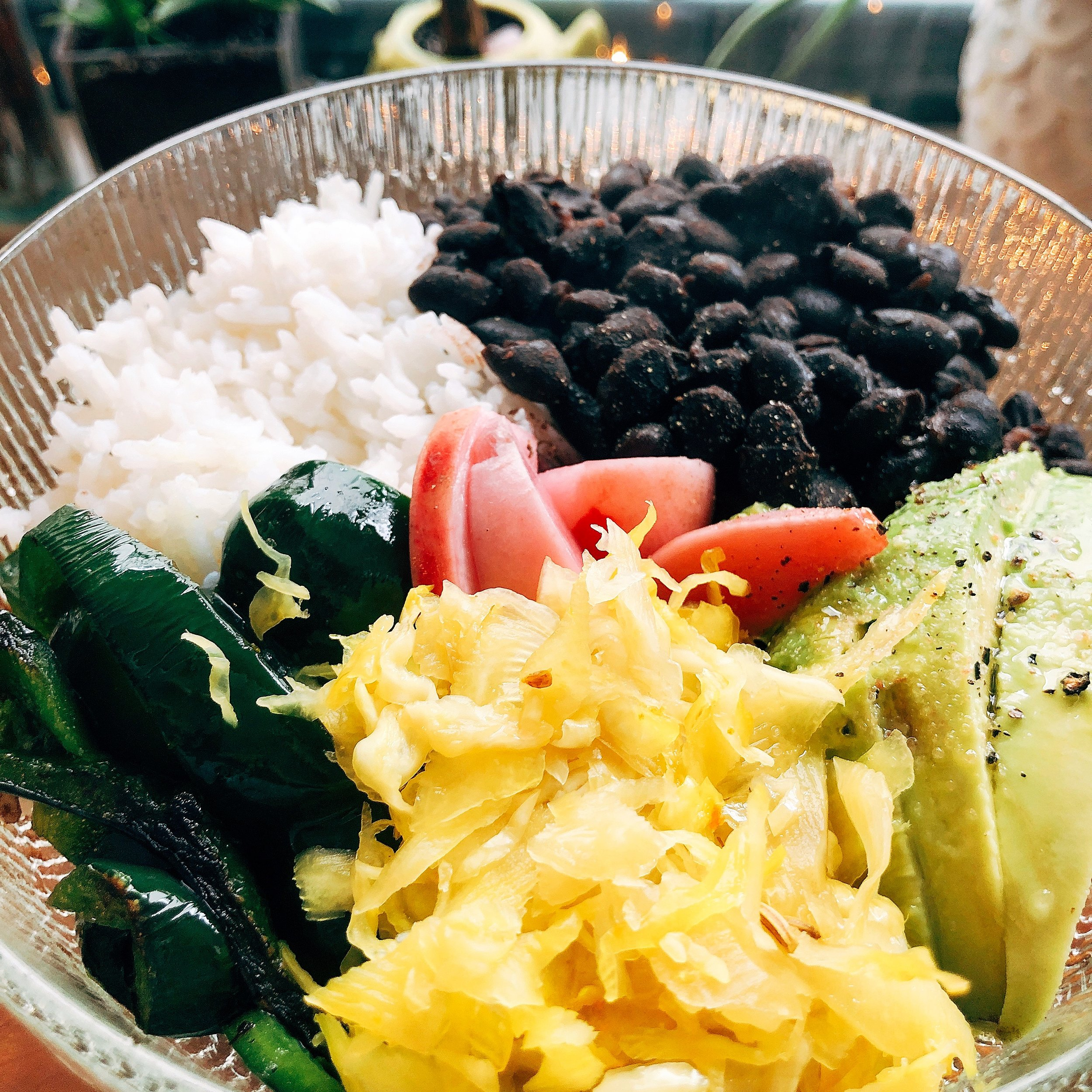 Black Beans and Rice Bowl