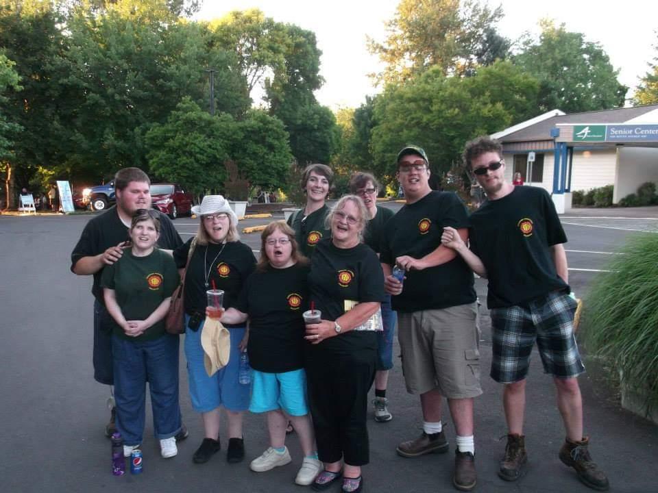 Sunshine volunteering at the Albany River Rhythms