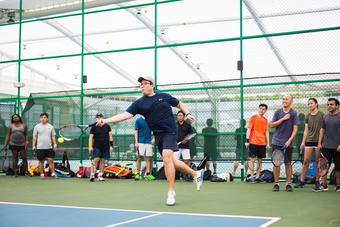 Tennis Lessons Singapore Club