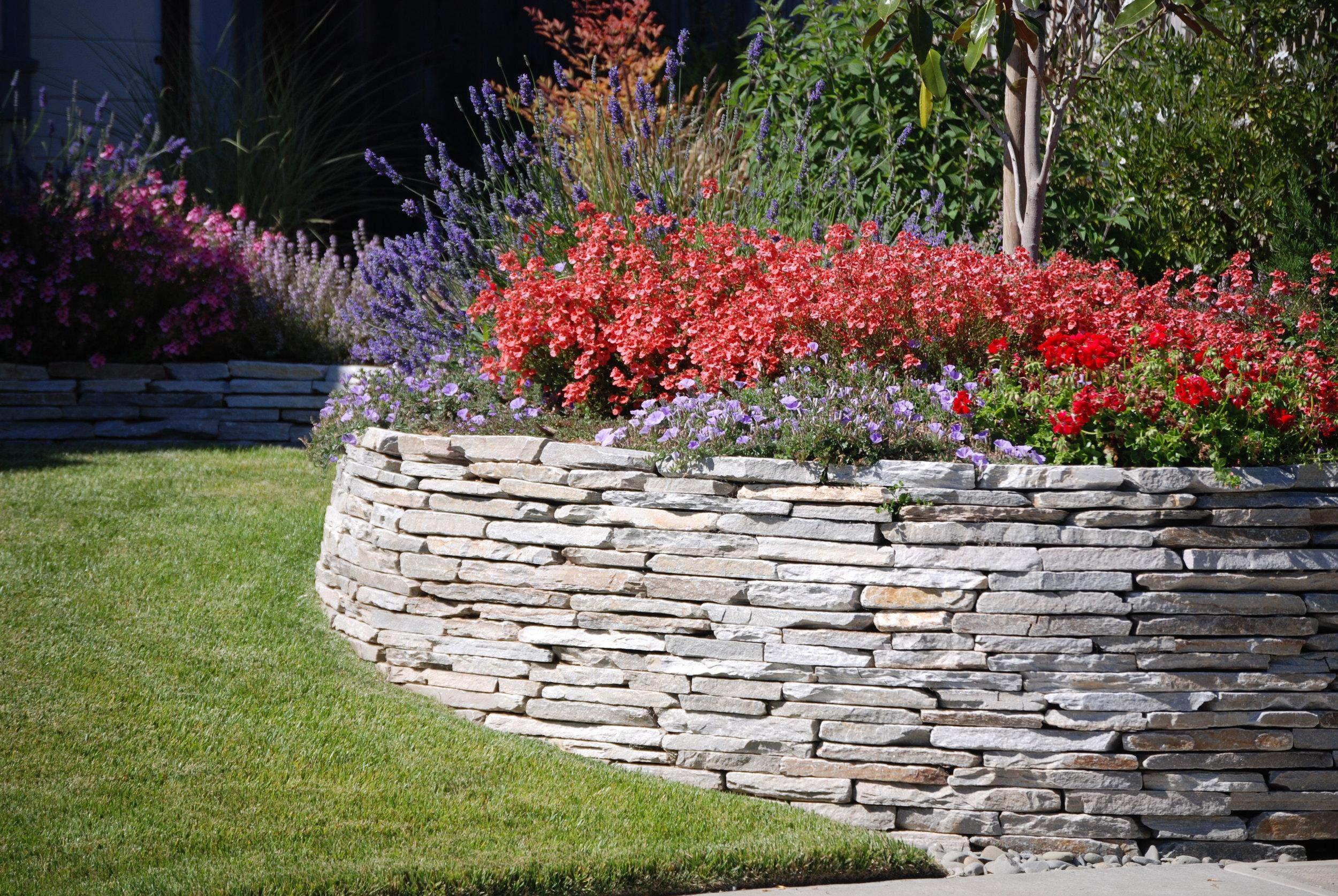 Decorative Stone Wall.JPG