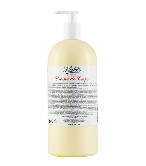 Kiehl's Creme de Corps - I always keep a big one on deck. It's the best freakin' stuff in the world!