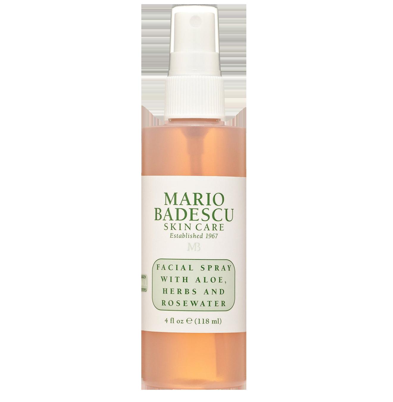 Mario Badescu Facial Spray - This gives you that glow and it smells soooo good!