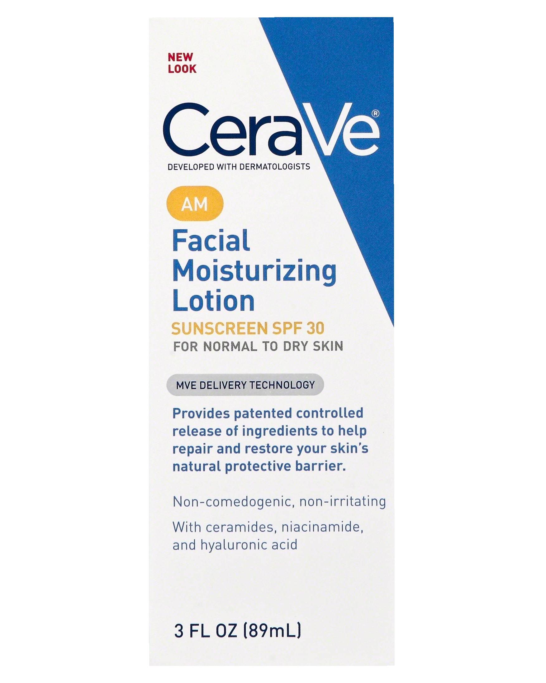 CeraVe Facial Moisturizing Lotion - $14