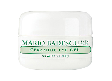 Mario Badescu Ceramide Eye Gel  - This eye gel helps de-puff my under eyes and keep the skin hydrated.
