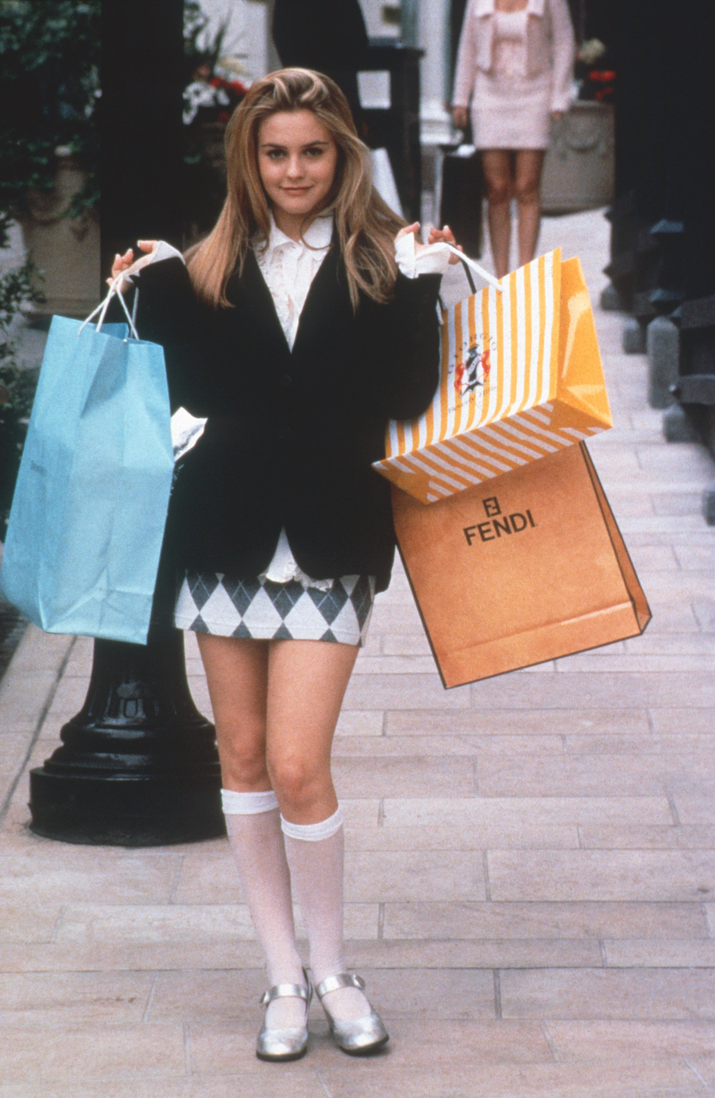 """KNEE-HIGH SOCKS- I'm not mad at it, but it depends on how you wear them. I'm still into this look from """"Clueless""""."""