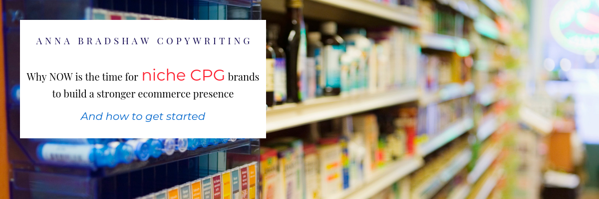 Copywriting CPG Ecommerce strategy