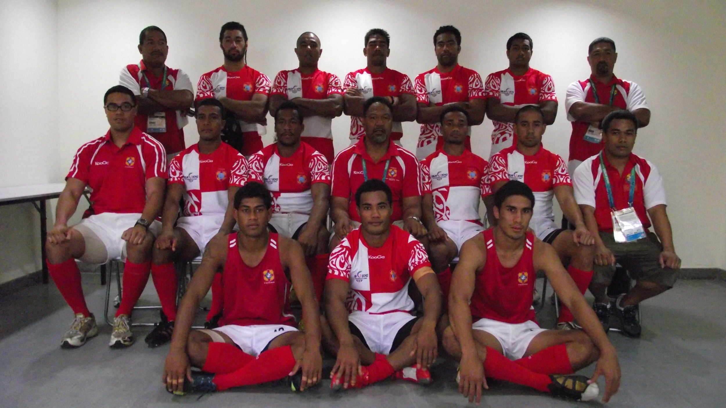 Rugby 7s team.   Players were selected from Tonga, Australia, New Zealand and USA to represent our Pacific Island!
