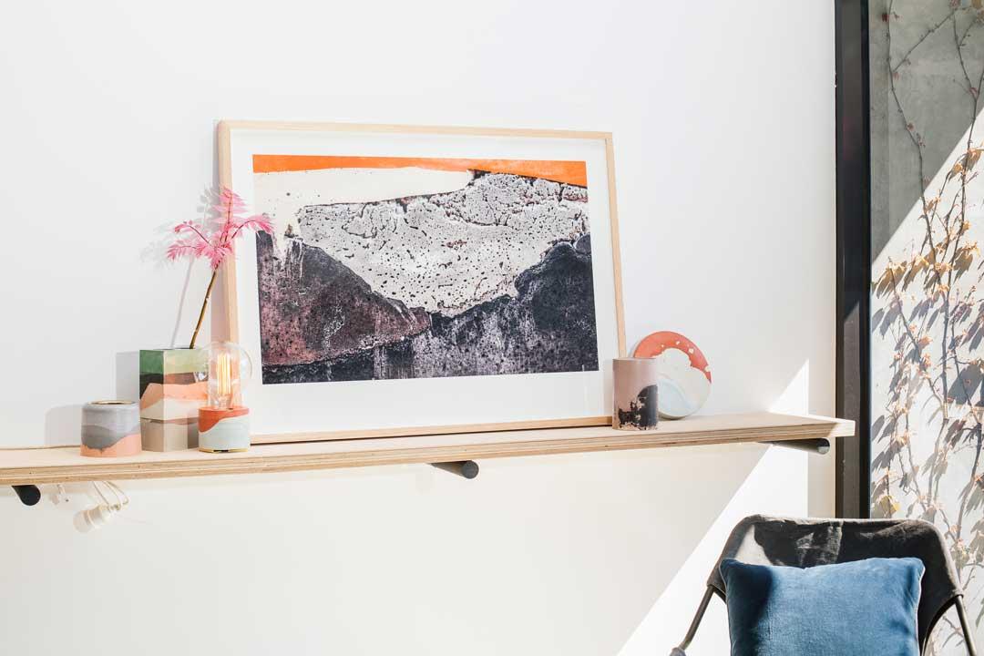 Printed Artwork #03  (2015) Giclee print on natural cotton rag paper