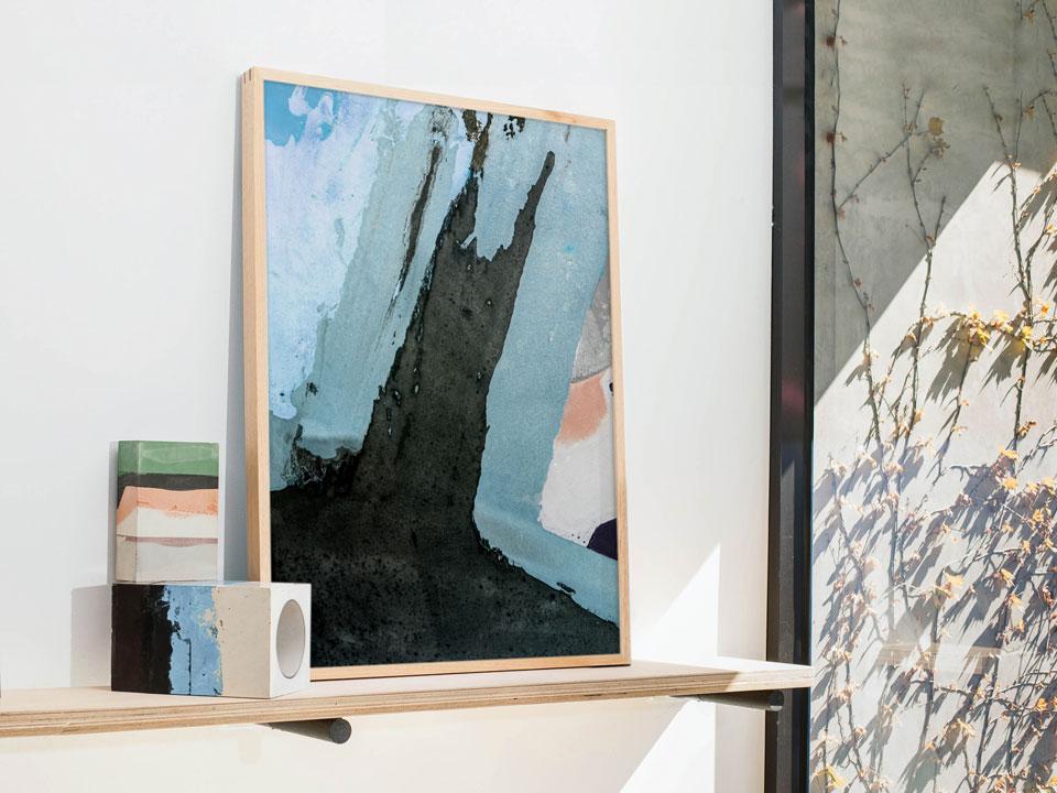 Printed Artwork #10 Left  (2016) Giclee print on natural cotton rag paper