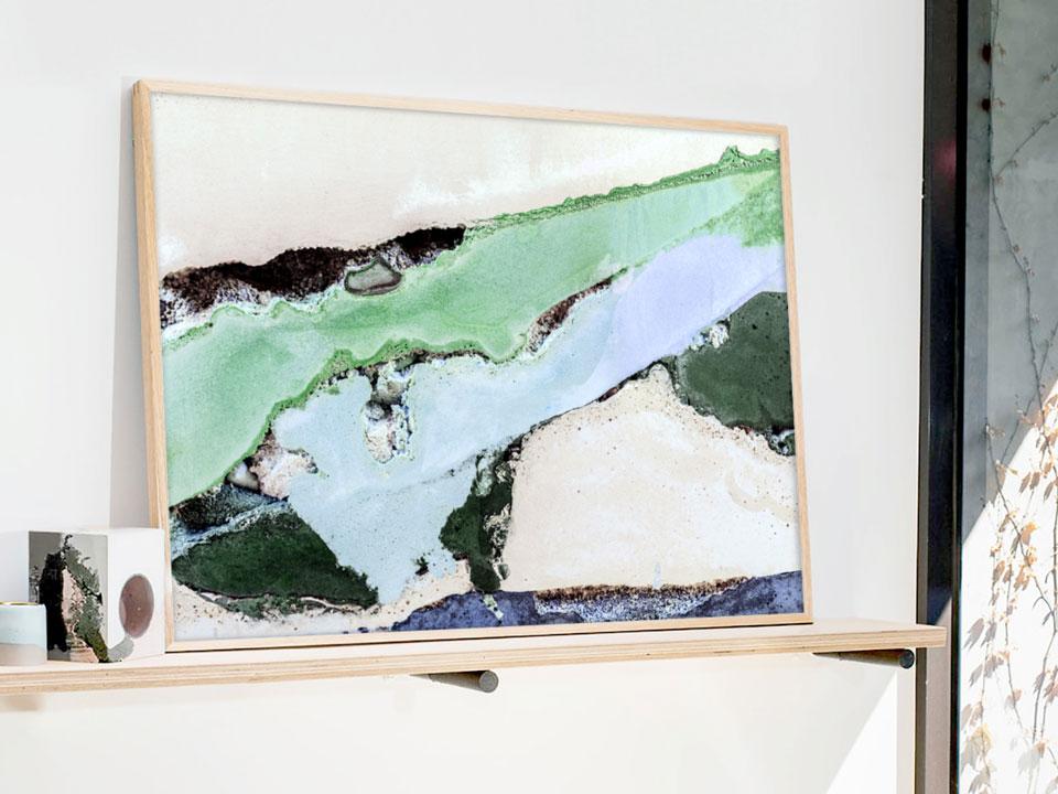Printed Artwork #11  (2016) Giclee print on natural cotton rag paper