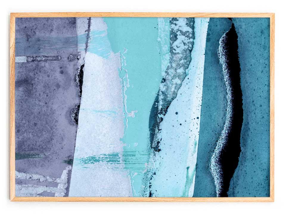 Printed Artwork #12  (2016) Giclee print on natural cotton rag paper