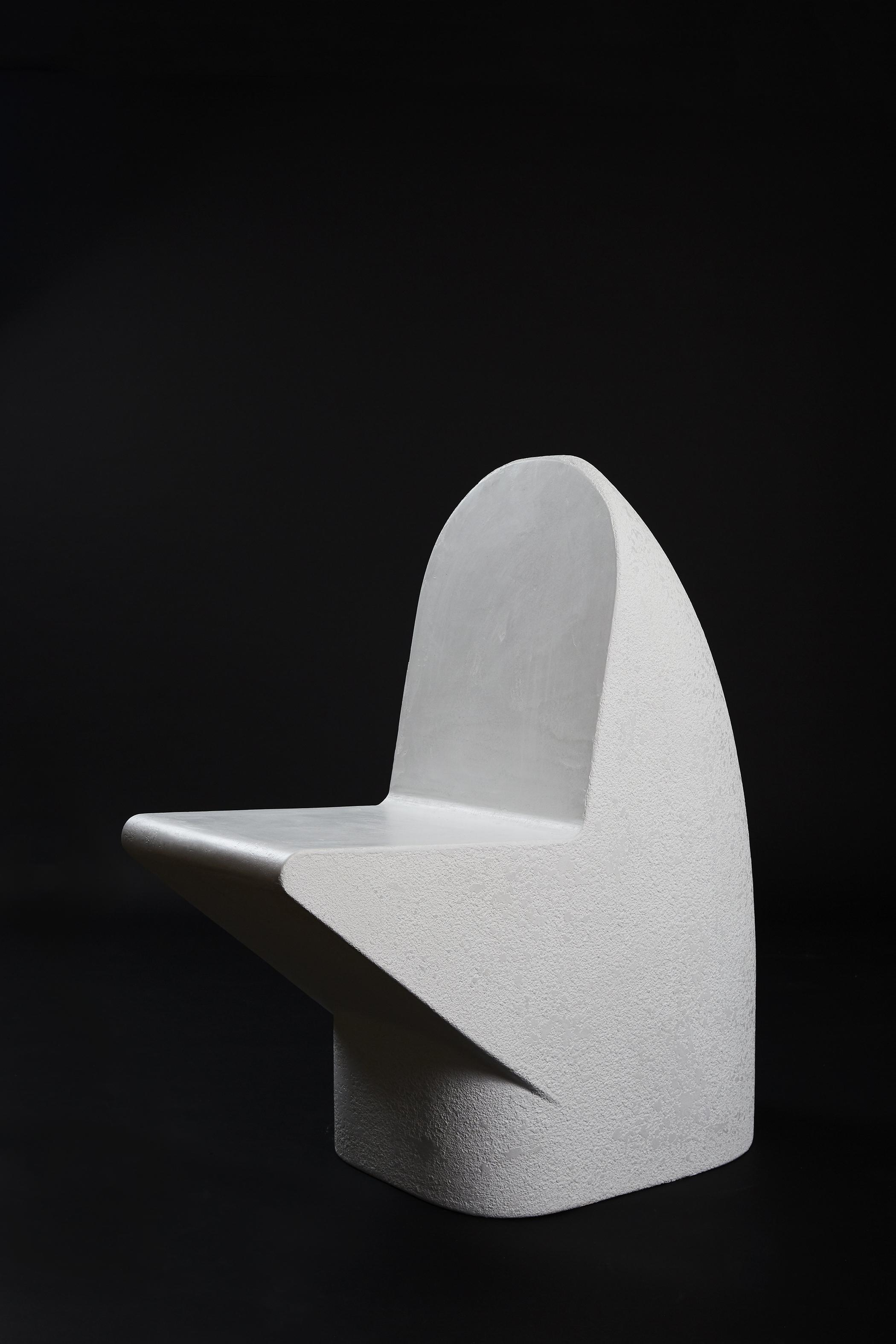 Snake Head Seat - Blanco (2018) Cement | L870 x W440 x H960
