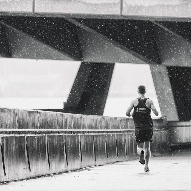 Happiness is running in the rain. 🌧  #exploresingapore  #marinabay  #rain