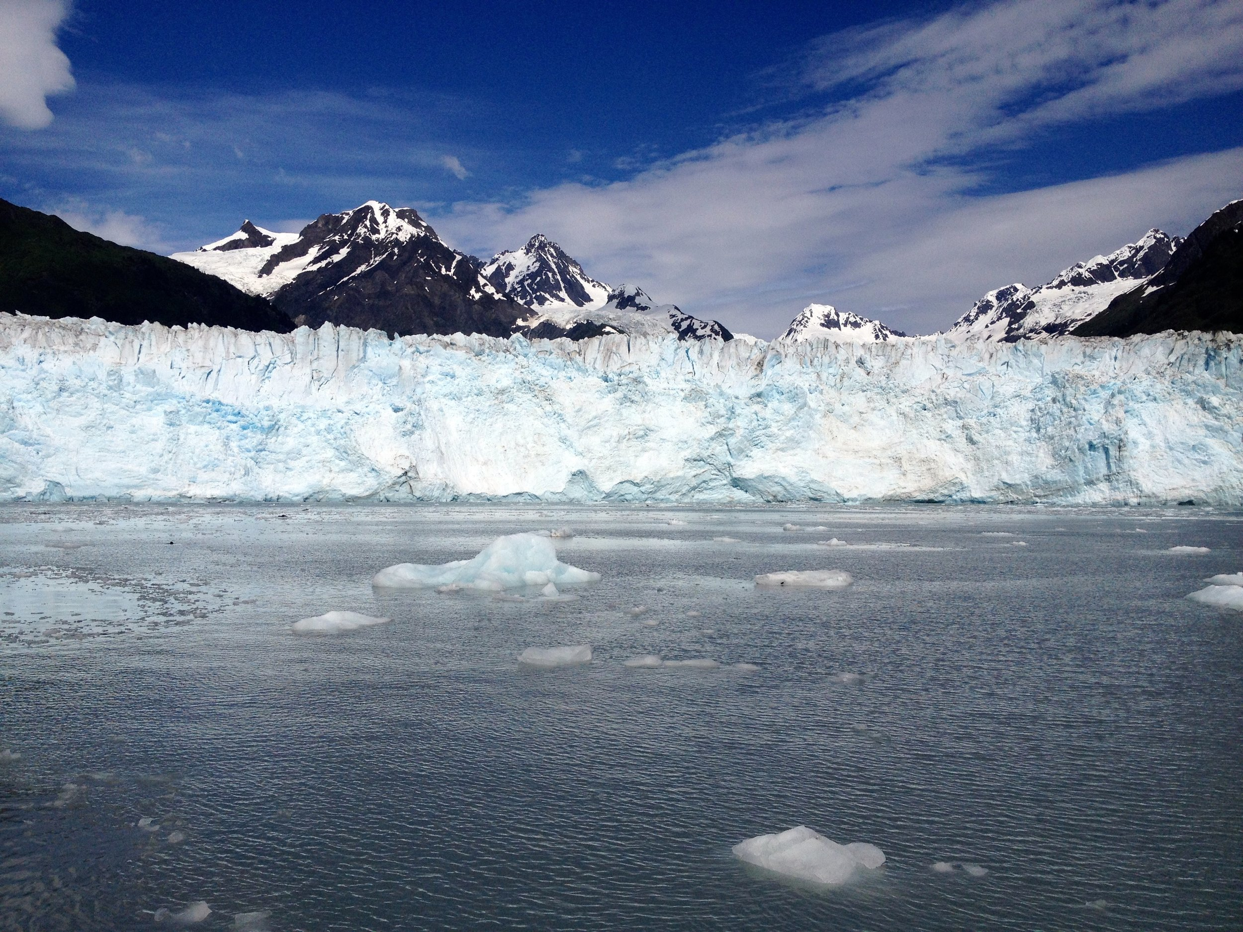Glaciers - Alaska's tidewater glaciers are a wonder to behold! Stop and have lunch next to one of these beauties, and listen to the subtle crackles and resounding thunder as they slowly calve into the ocean.