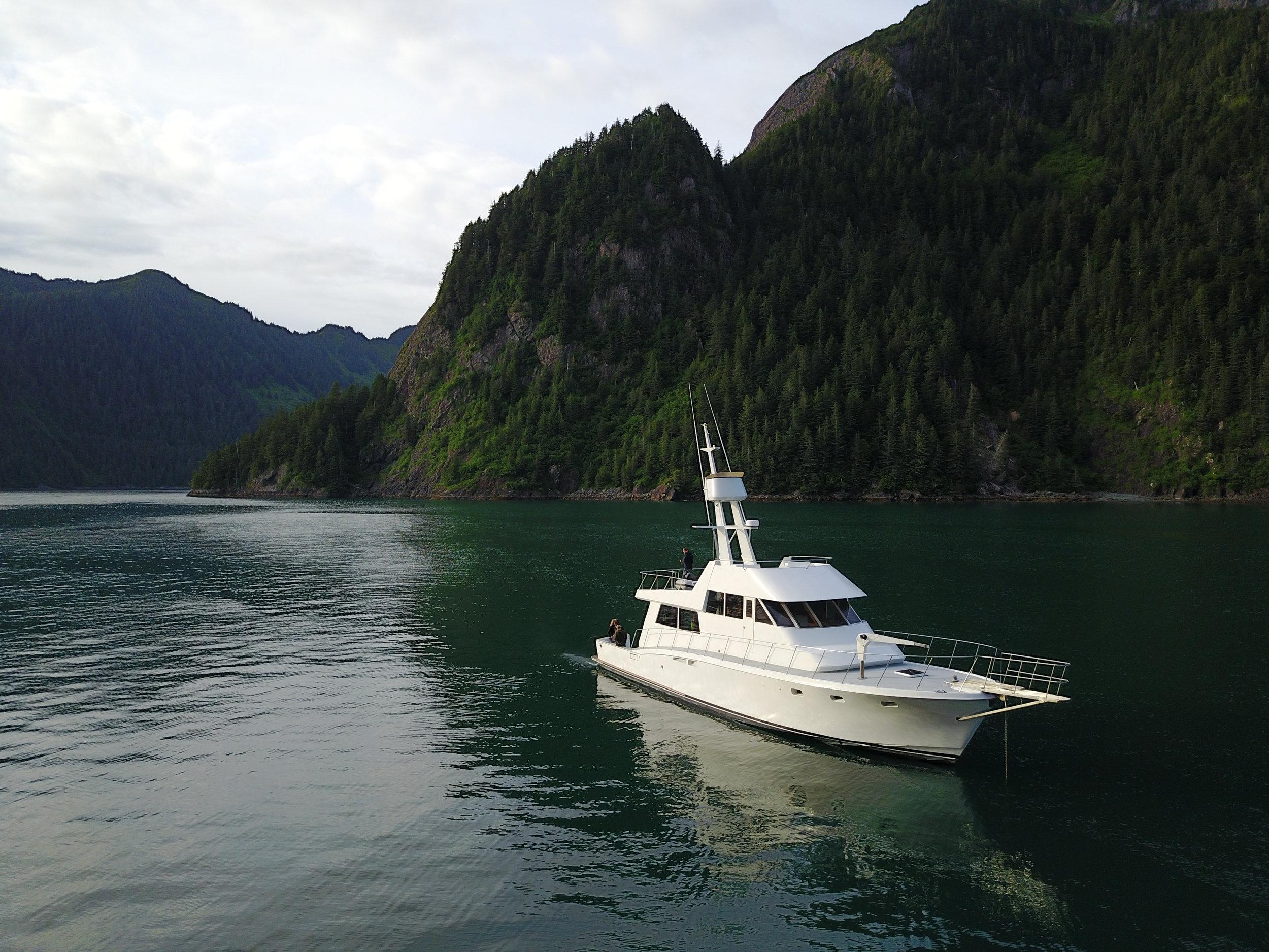 Private Luxury Alaska Yacht Trips