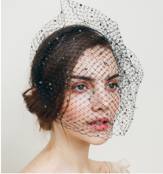 Birdcage Wedding Veil by Jennifer Behr