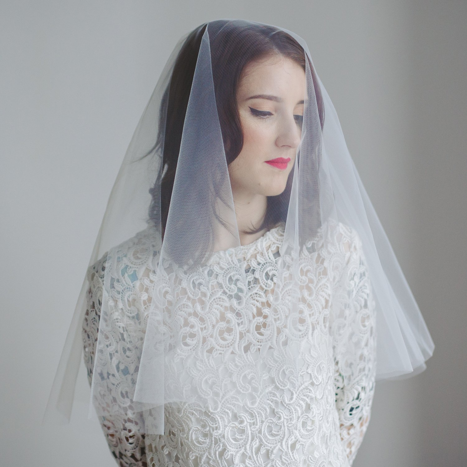 Blusher Wedding Veil by Crown & Glory