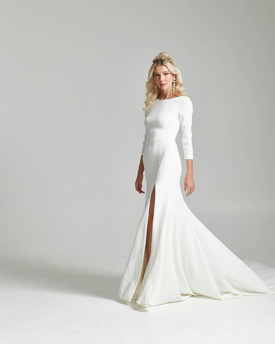 Rebecca Schoneveld is a modern bridal designer and her new 2020 bridal collection can be found at Arizona bridal shop Neue Bride in Mesa, Arizona!