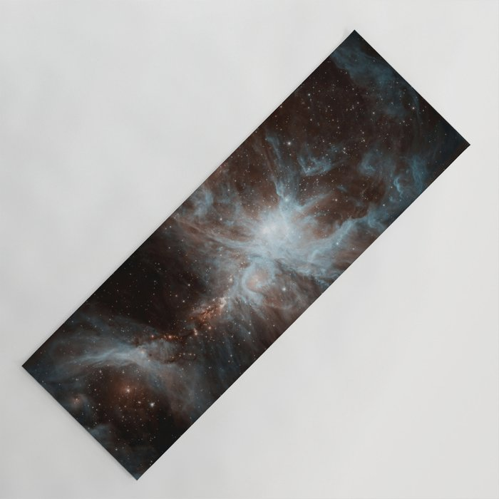 Galaxy Black Yoga Mat