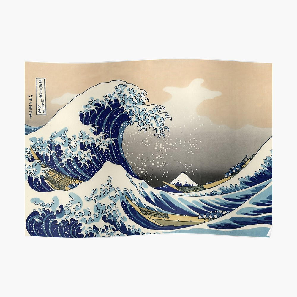 Poster - Great Wave