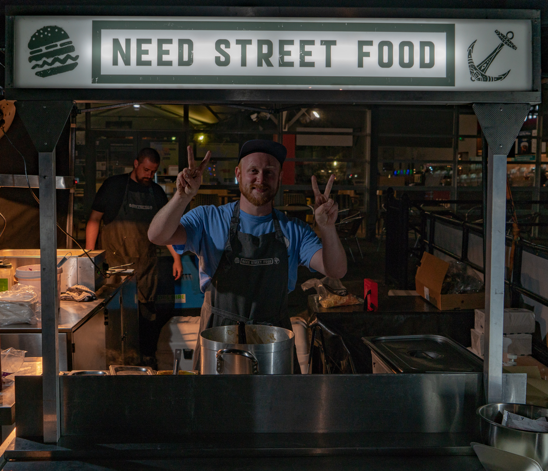 Pete from Need Street Food doin' his thang!