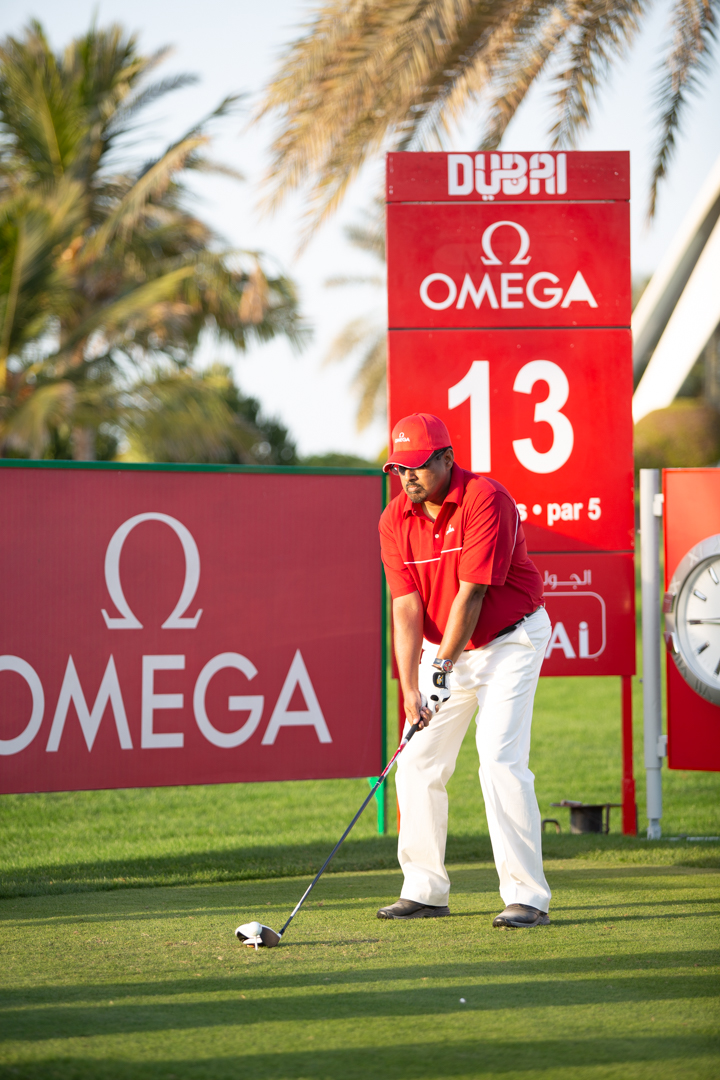 Pro-Am OMEGA golf player