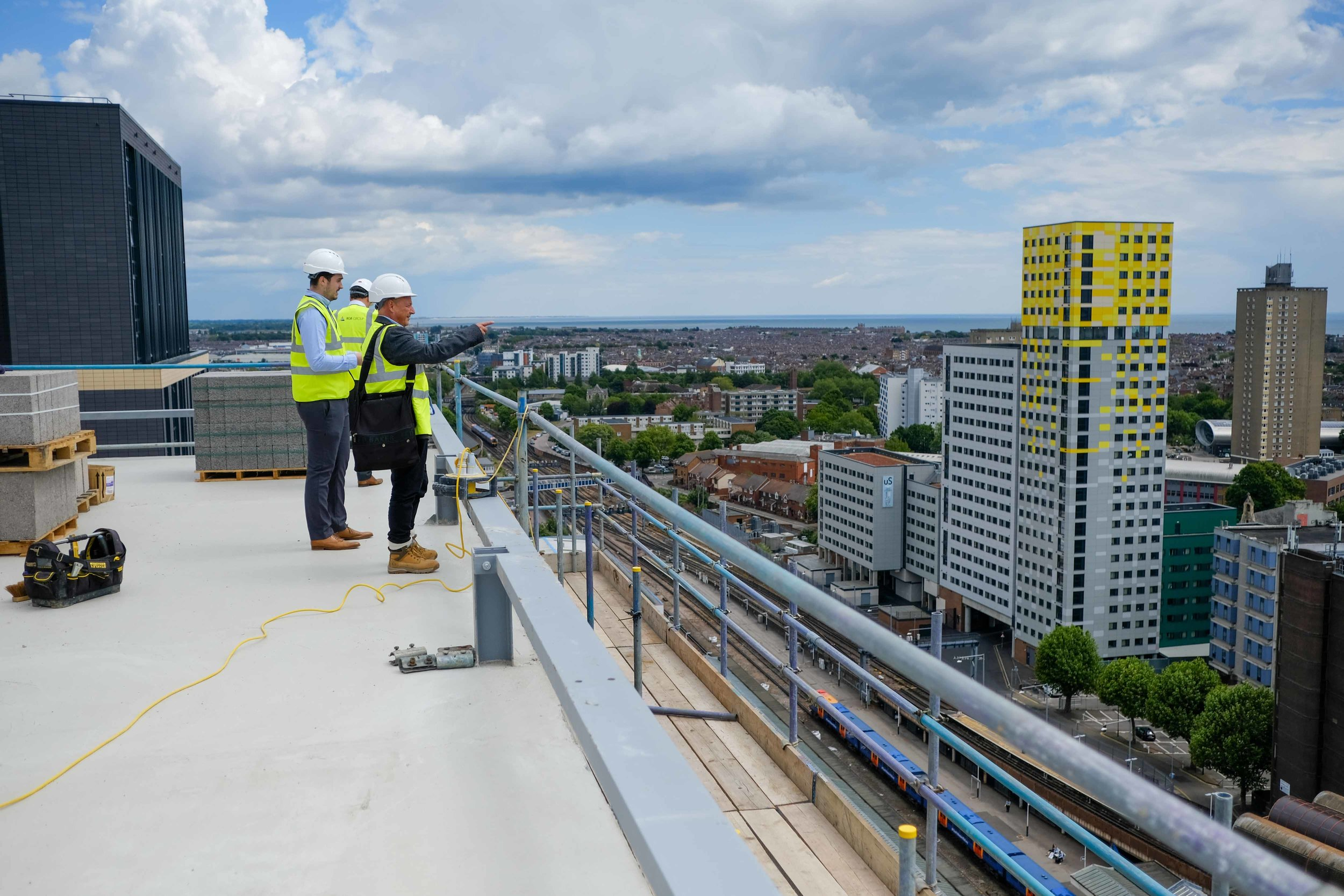 Stanhope House Topping Out 28.05.19 - Solent Sky Services--27.JPG