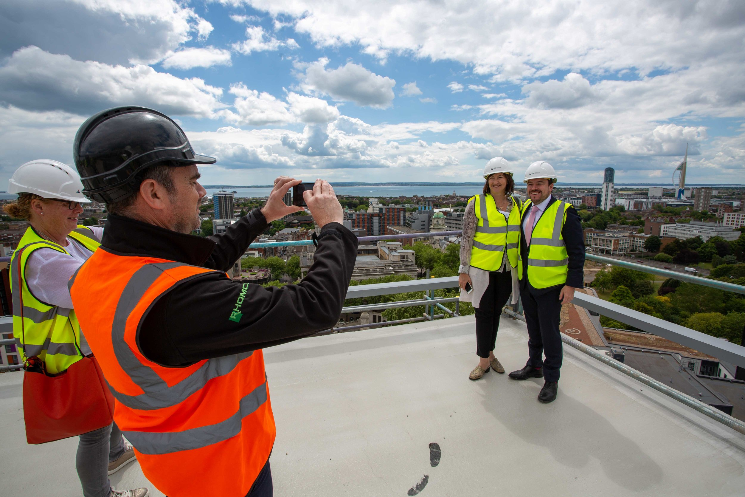 Stanhope House Topping Out 28.05.19 - Solent Sky Services--66.JPG