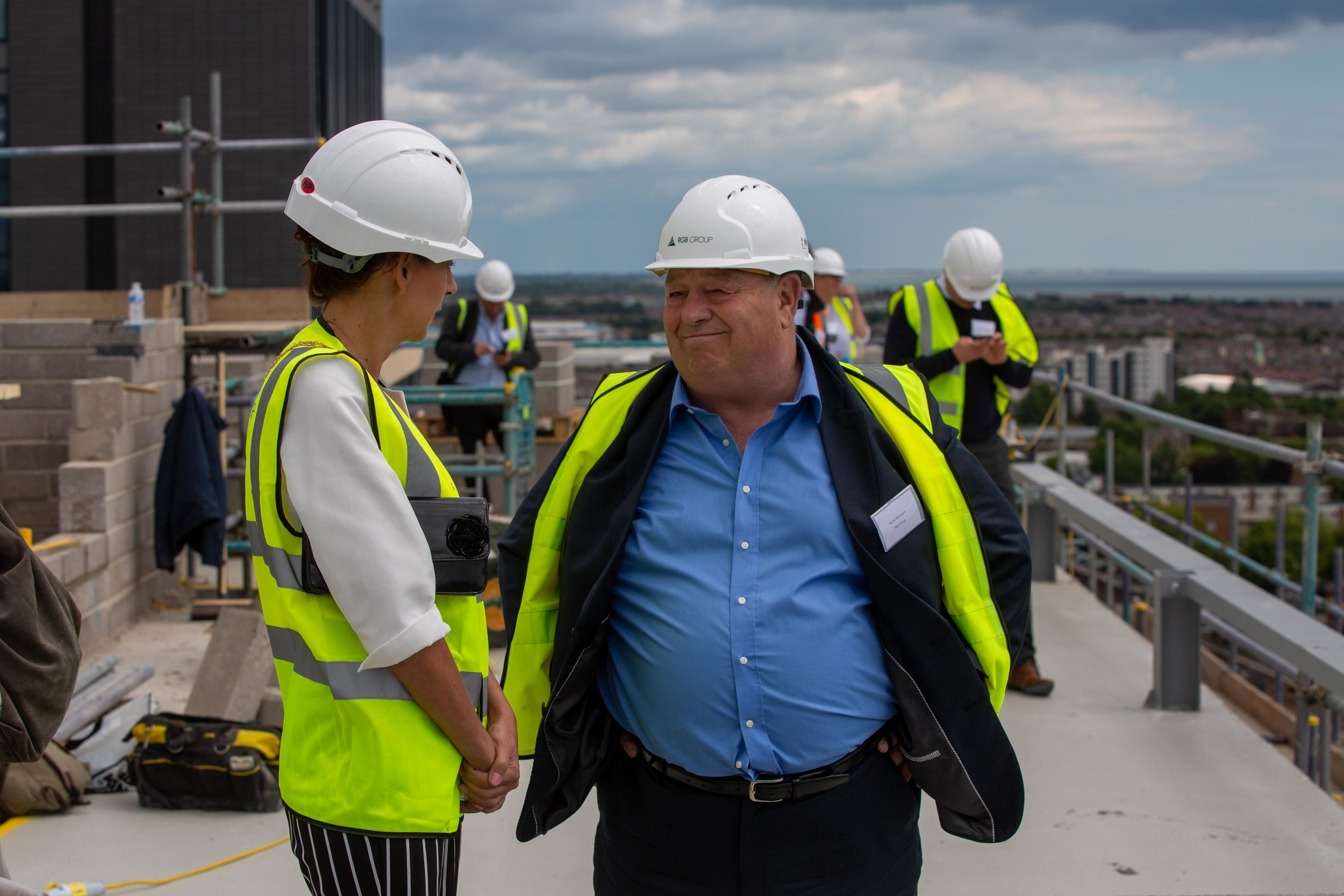 Stanhope House Topping Out 28.05.19 - Solent Sky Services--77.JPG