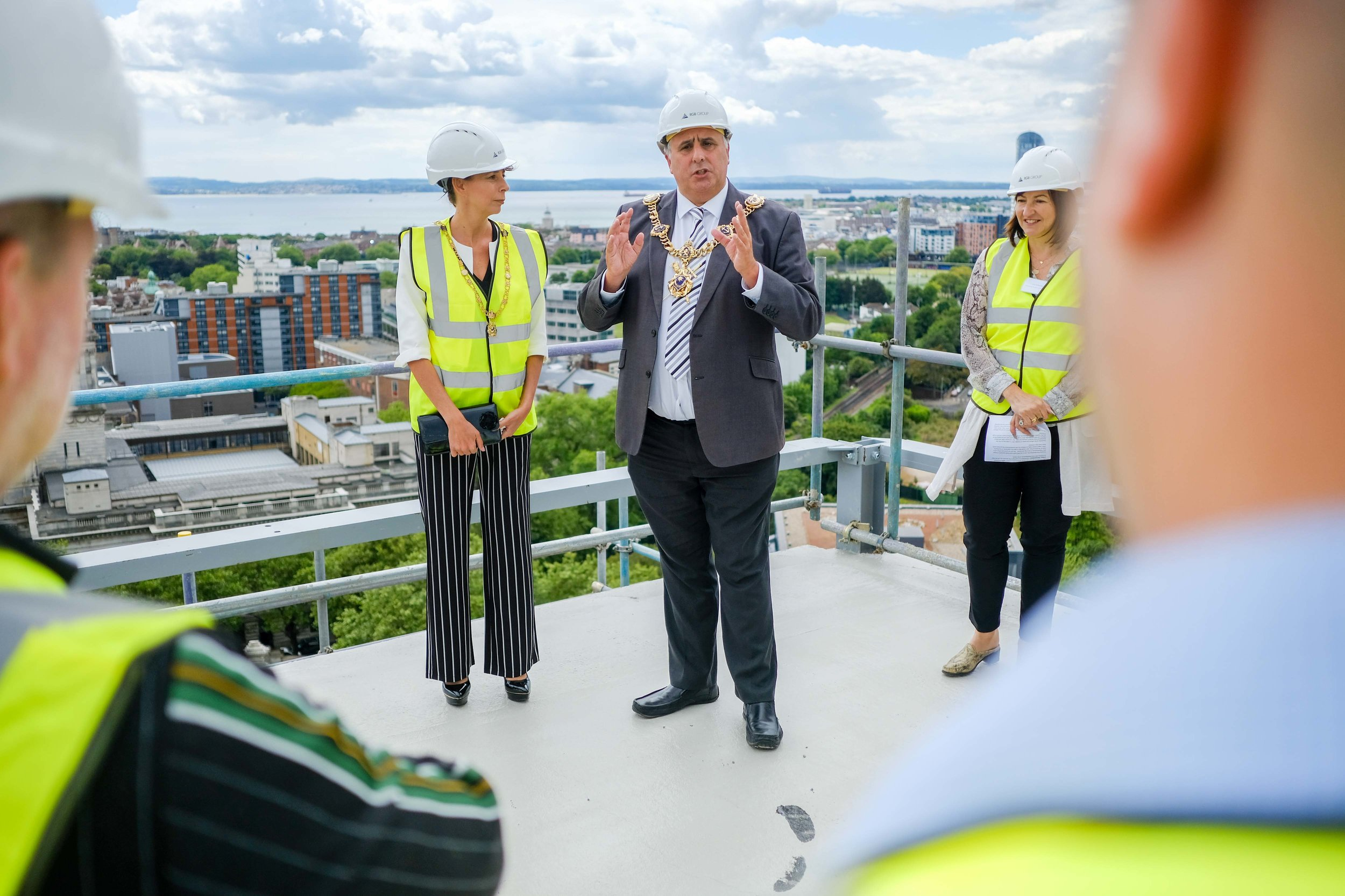 Stanhope House Topping Out 28.05.19 - Solent Sky Services--39.JPG