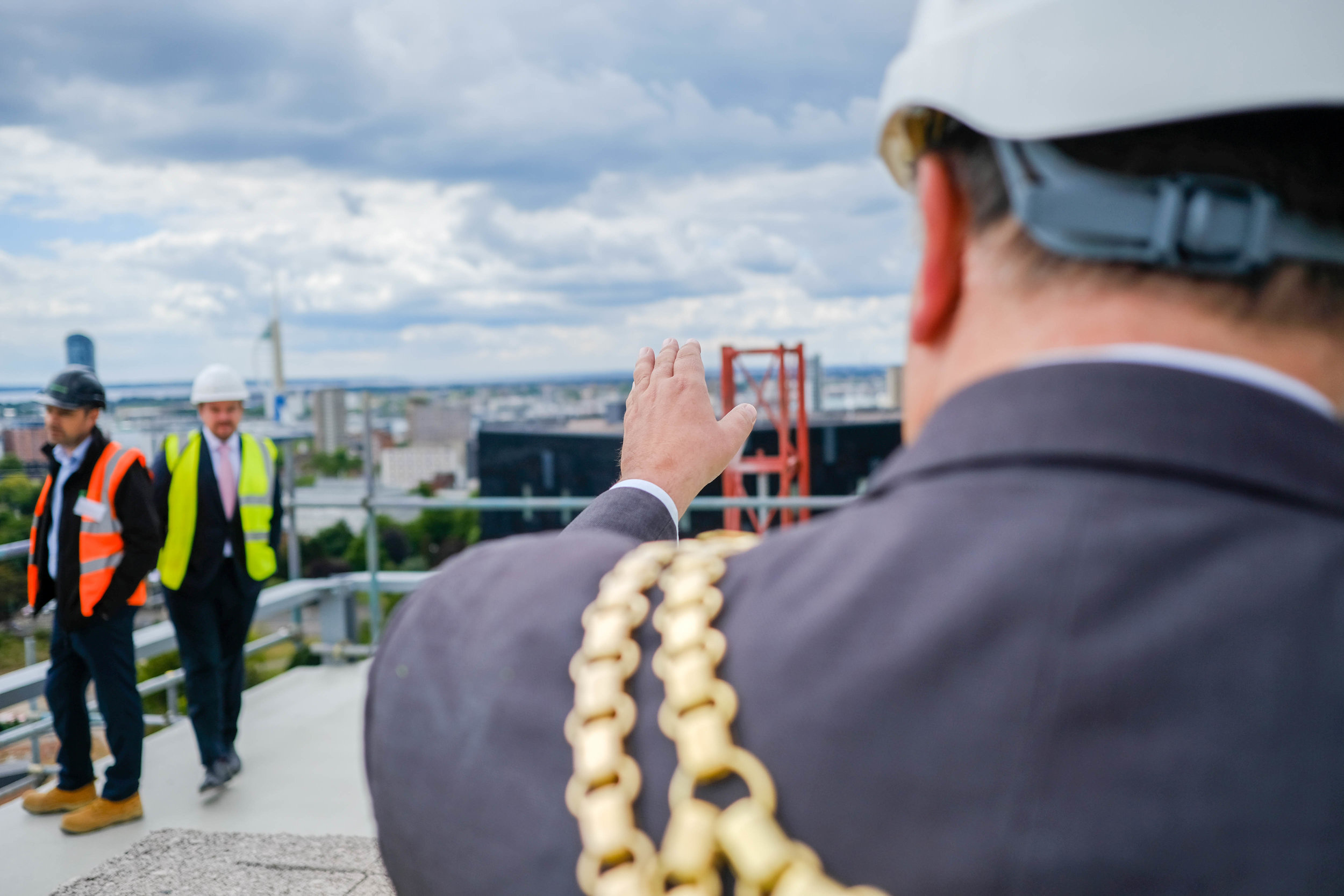 Stanhope House Topping Out 28.05.19 - Solent Sky Services--37.JPG