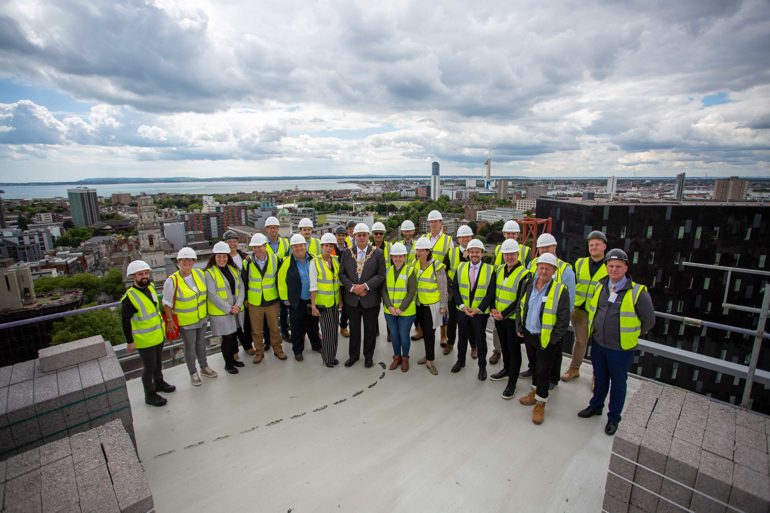 Stanhope House Topping Out 28.05.19 - Solent Sky Services--98.JPG