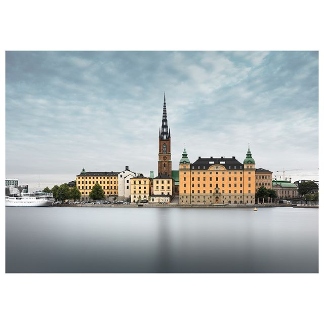 Holm. It's been a little while hasn't it? And would you believe I return from obscurity with a picture like this...in colour! A shock I know, I hope it meets with your approval? This is the beautiful city of Stockholm, and just one of the places I've been exploring in recent weeks. More to come... #stockholm, #stockholmsweden #scandinavianstyle #scandi #scandistyle #sweden #loves_sweden #swedentrip #swedenphotography #visitsweden