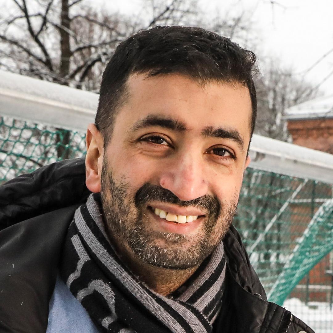 Mohamed Fariss, årets Osloborger 2017, deltar i debatt.