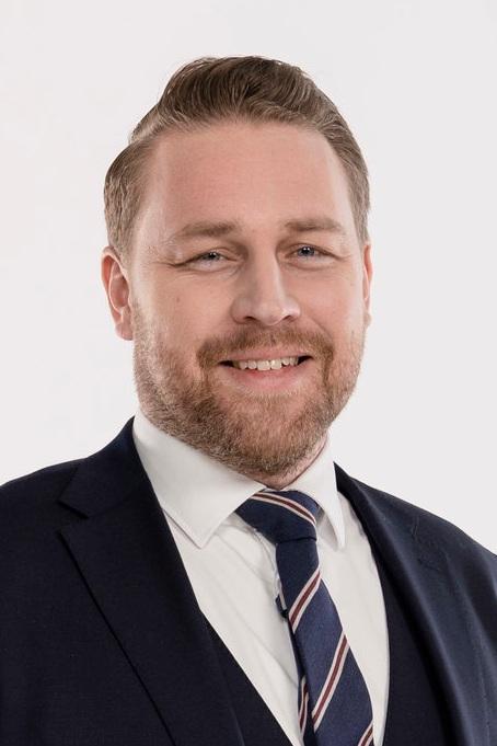 Mattias Karlsson, Sverigedemokraternas gruppeleder.