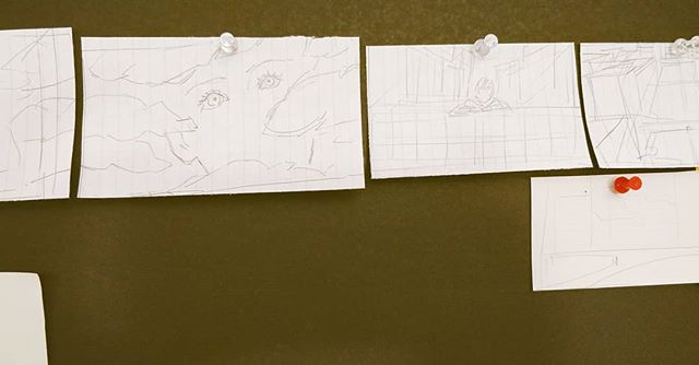 Storyboarding sequence 1