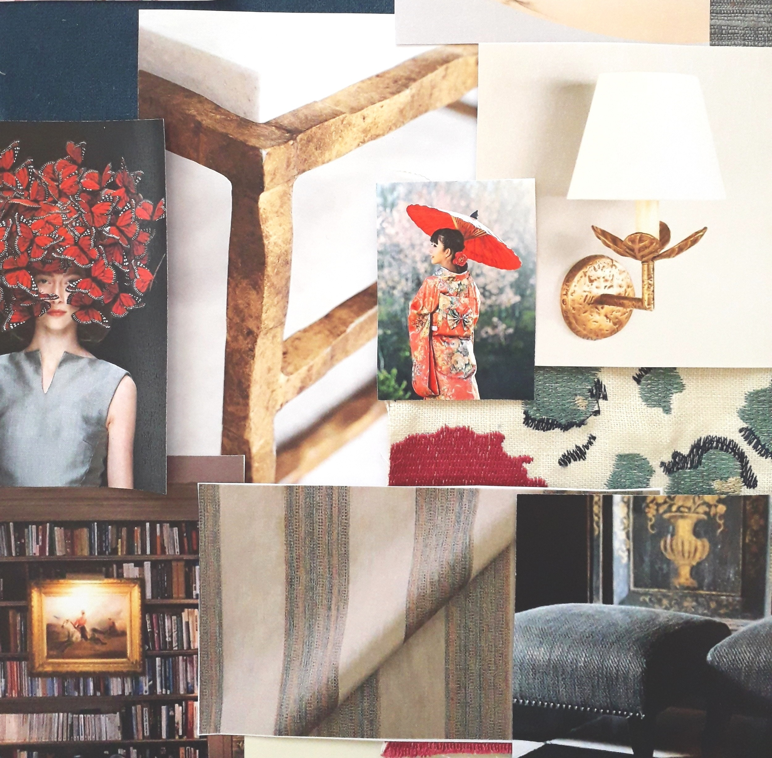 Sitting Room Concept Board
