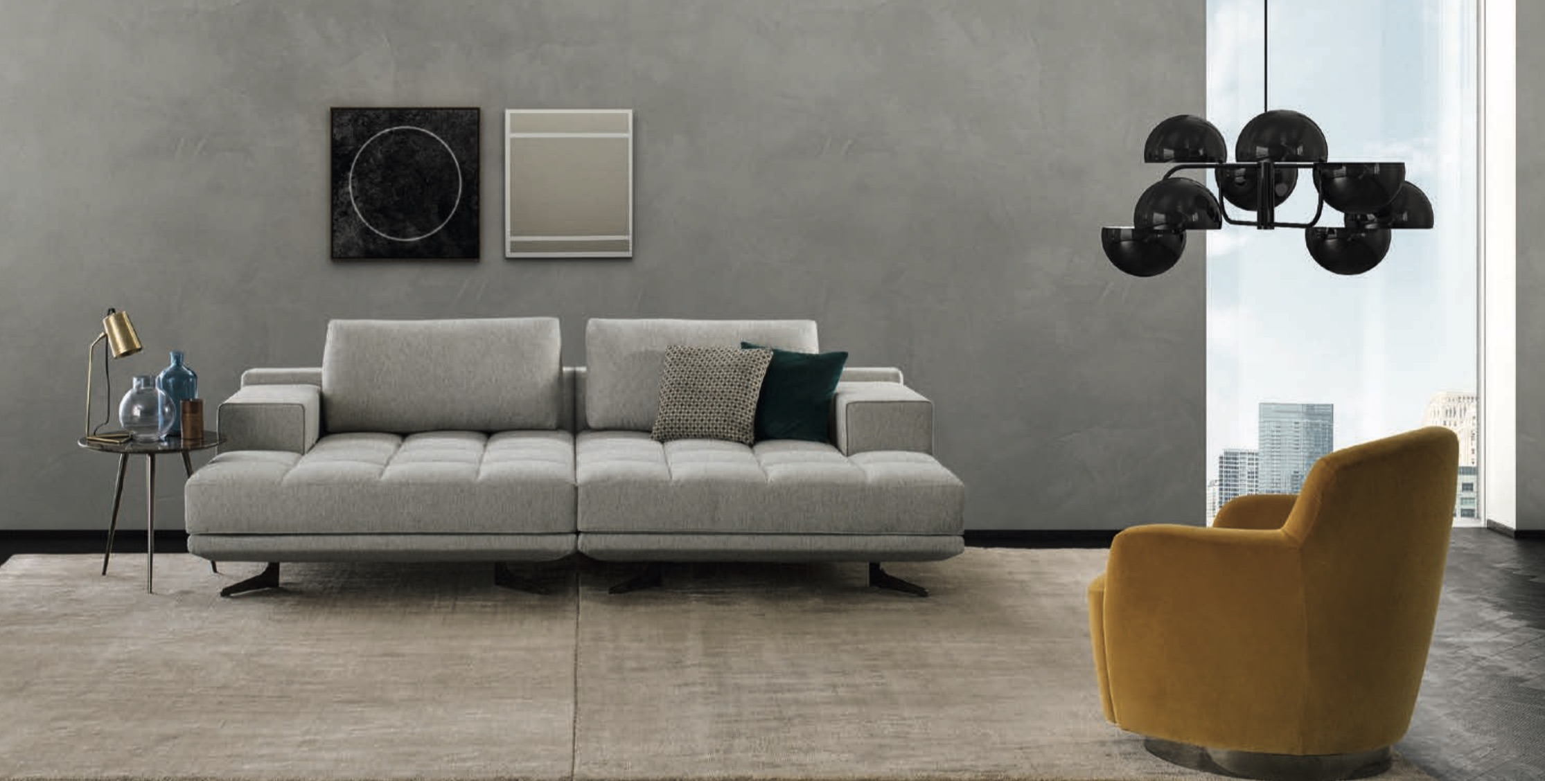 Italian Designer Sofas, leather sofas and sectionals — Modern ...