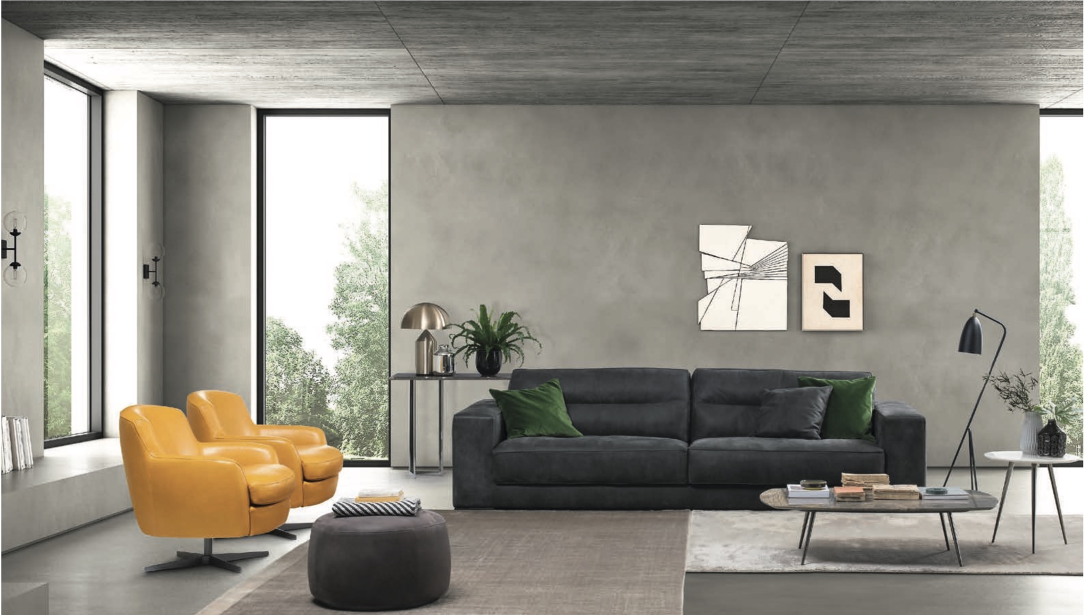 SOF 216 Modern Sofa — Modern Italian Designer Furniture | Momentoitalia