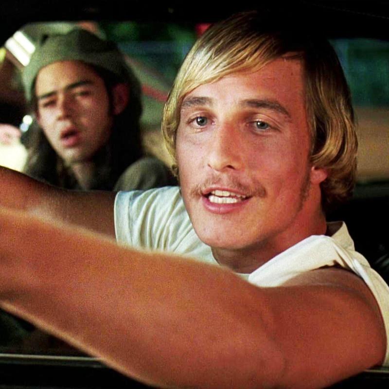 Młody Matthew McConaughey