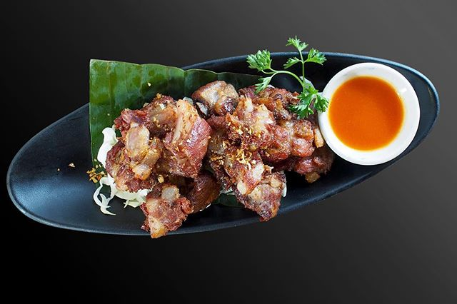 Naem Kra Dook แหนมกระดูกหมูทอด  Fried fermented Pork ribs.  Fermentation is a way of food preservation. It has sour taste because of its microorganism process. Fried Esan Pork ribs  is popular to eat with fresh vegetables, sticky rice and dip with srirasha chili sauce  #naemkradook #esanfood  #isanfood  #thaifood  #laosfood  #vietnamesefood #asiancuisine #asiafood #foodie #nycfood #nycdining #nycliving #nyc  #nyclife #nycfoodie #foodlover  #nyceats #nycrestaurants  #nytimescooking #nytimesfood #nytimes #nyc #foodie #yelp #yelpeatsnyc #yelpelite #yelpreview