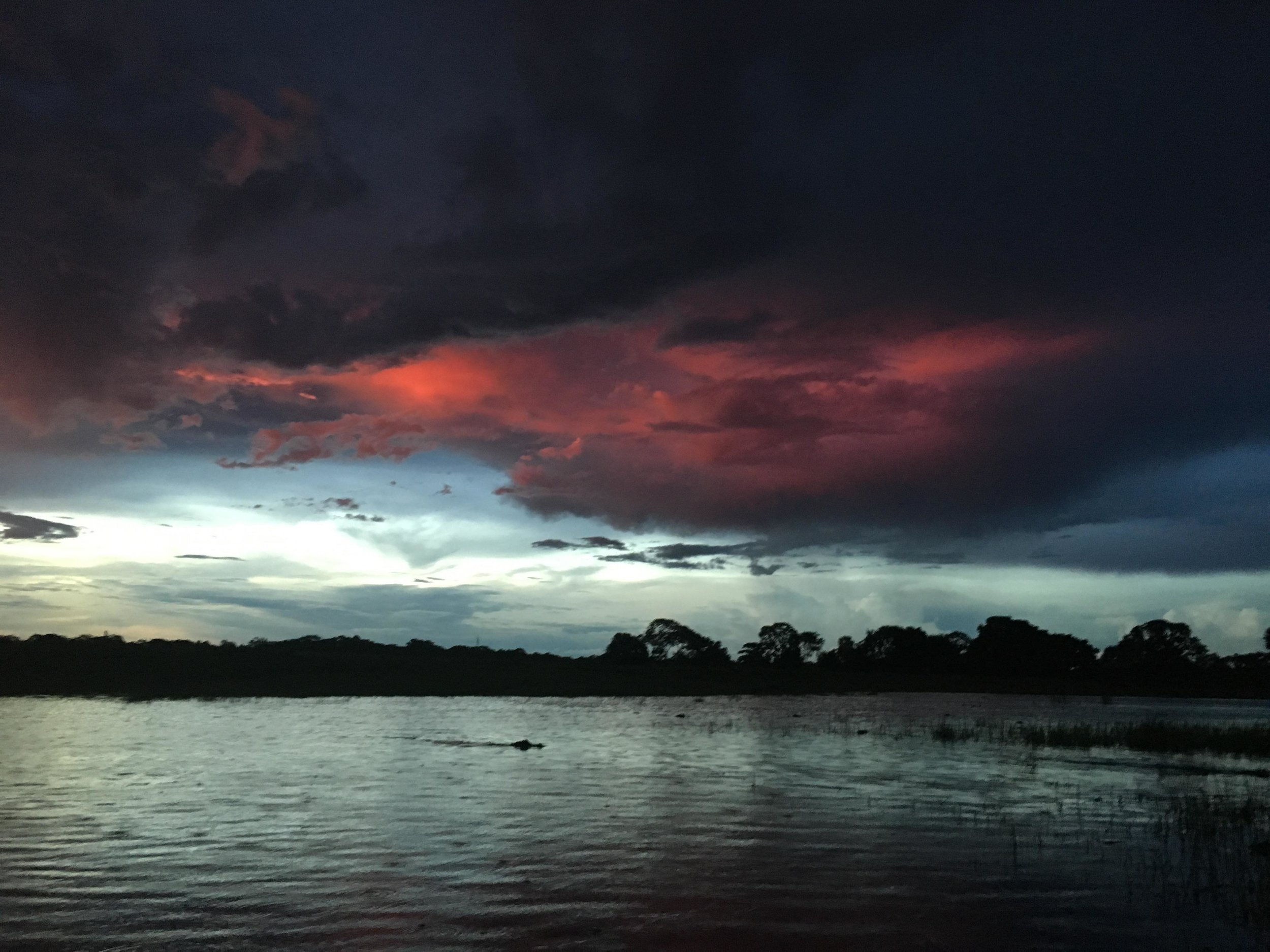 Storm on Rio Negro
