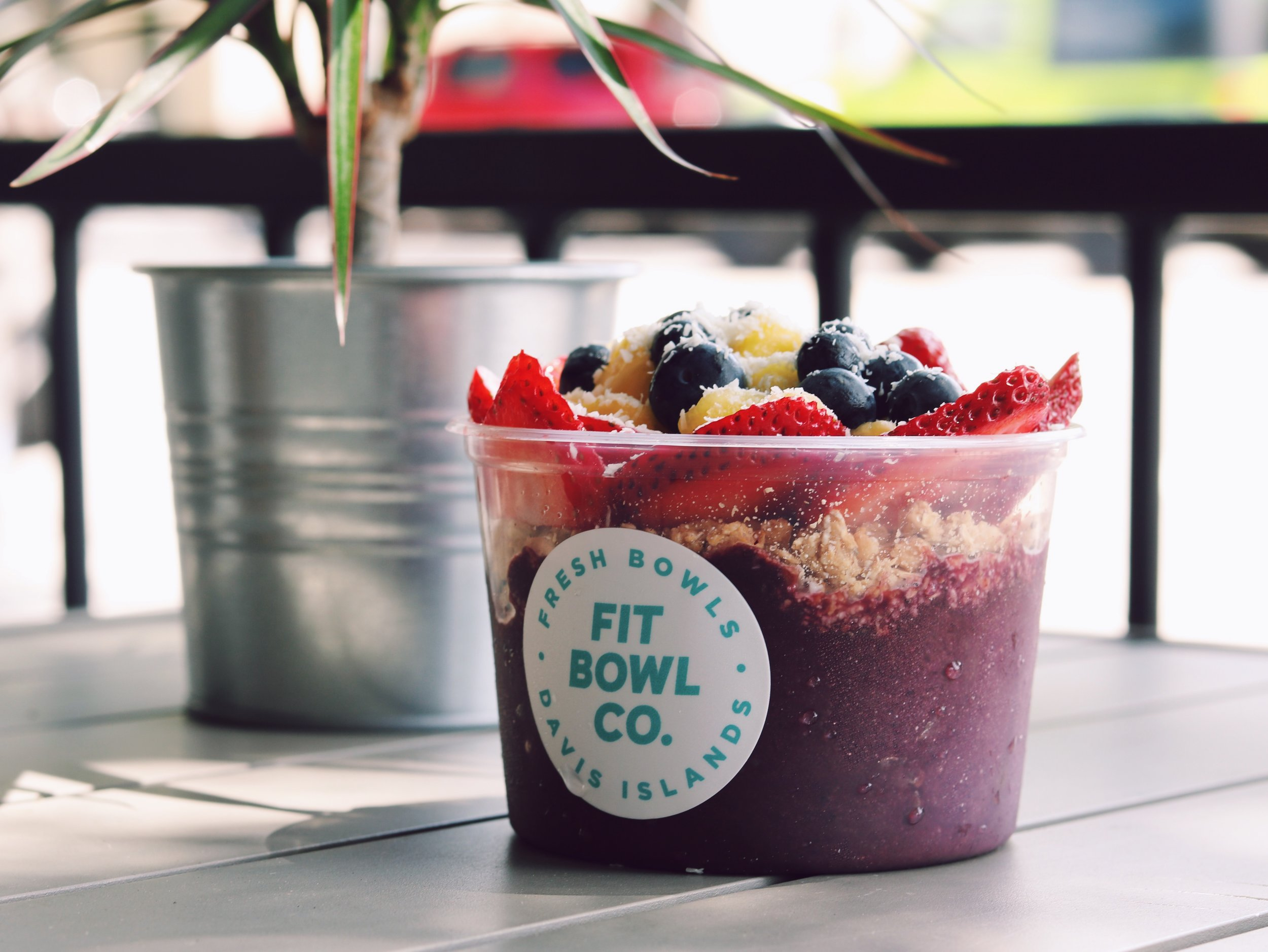 Acai Bowl on Davis Islands