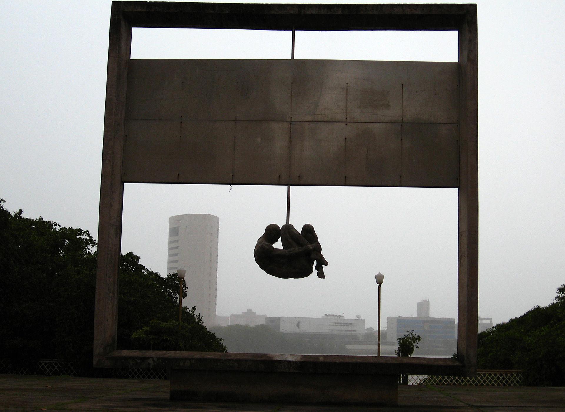 Monumento Tortura Nunca Mais, a monument by architect Demetrio Albuquerque in Recife, Brazil