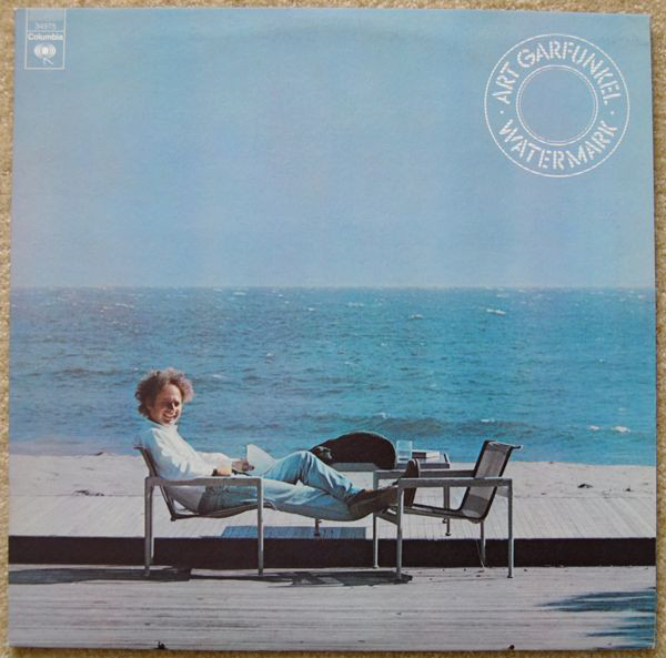 Cover artwork for Watermark (1977) by Art Garfunkel, shot by Laurie Bird